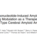 Antisense oligonucleotides as a therapy for Dutch-type Cerebral Amyloid Angiopathy (D-CAA)